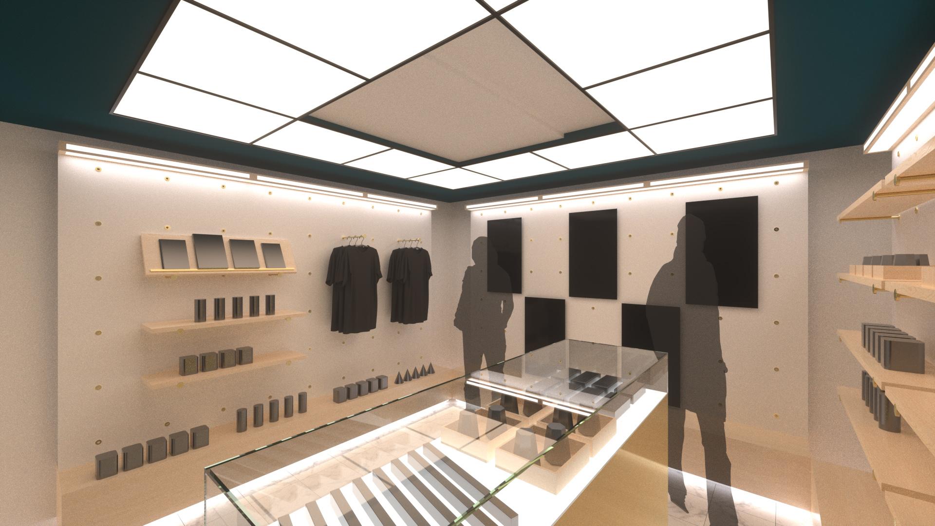 Interior Rendering, Option B