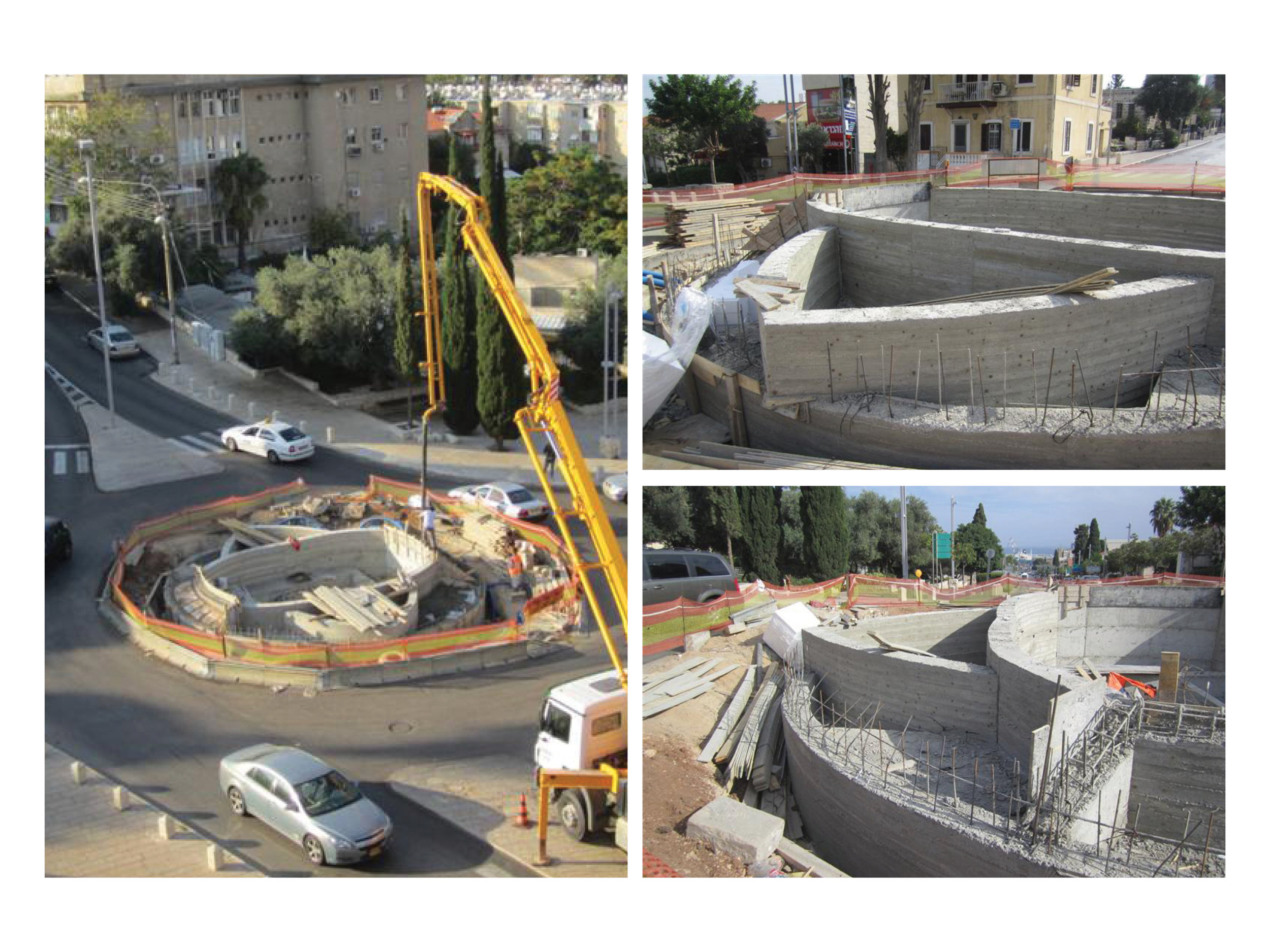Pouring of Concrete for Foundation Walls