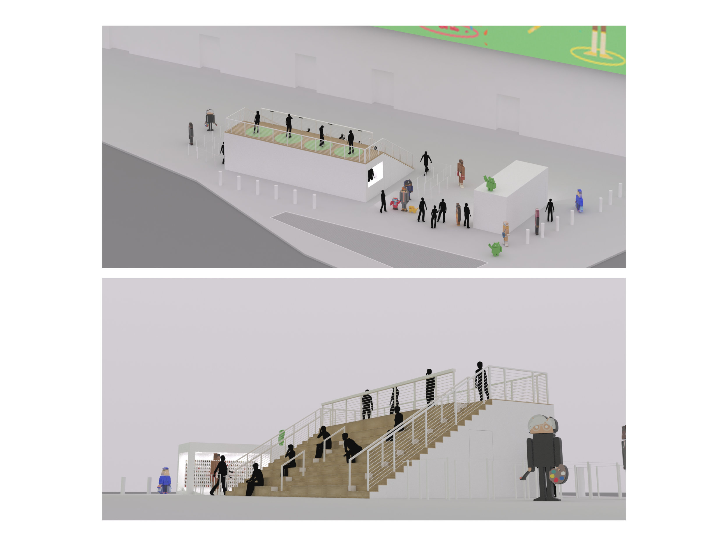 Renderings of Main Structure