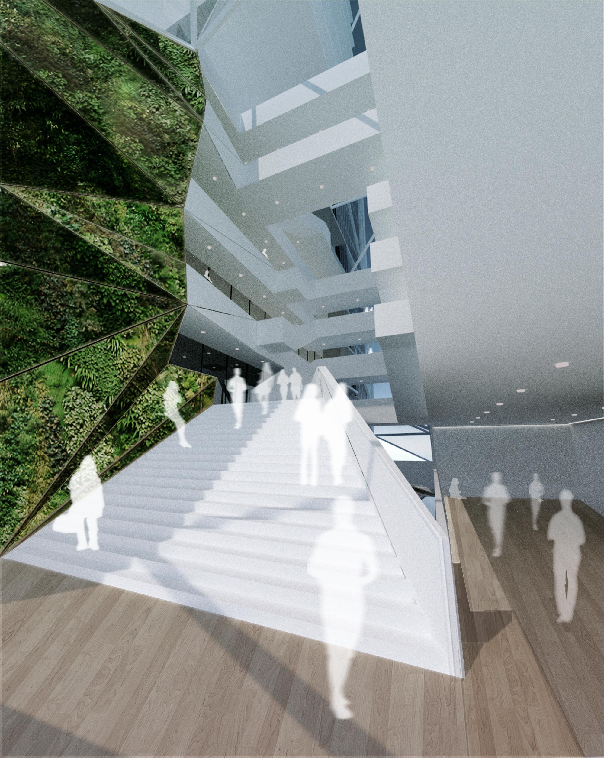 Rendering of Lobby Interior