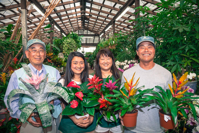 YOSHIHASHI FAMILY, SAN GABRIEL NURSERY