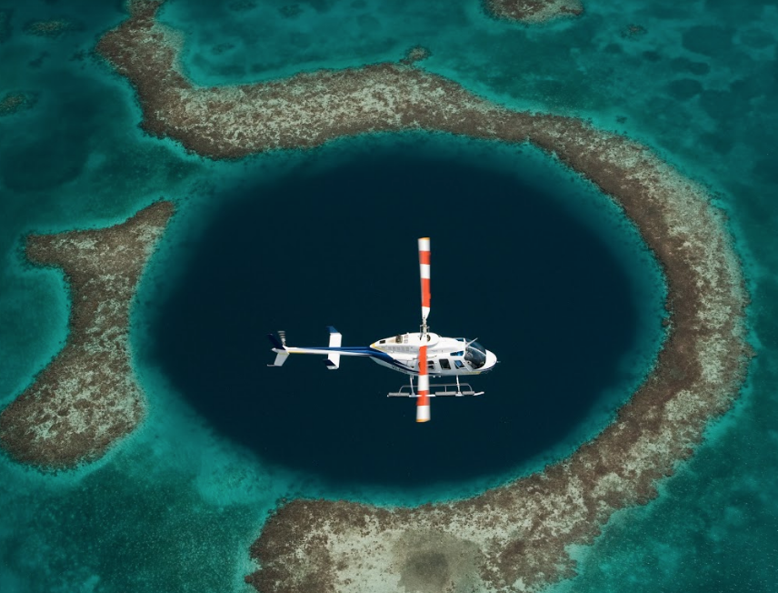 Helicopter Adventures Belize