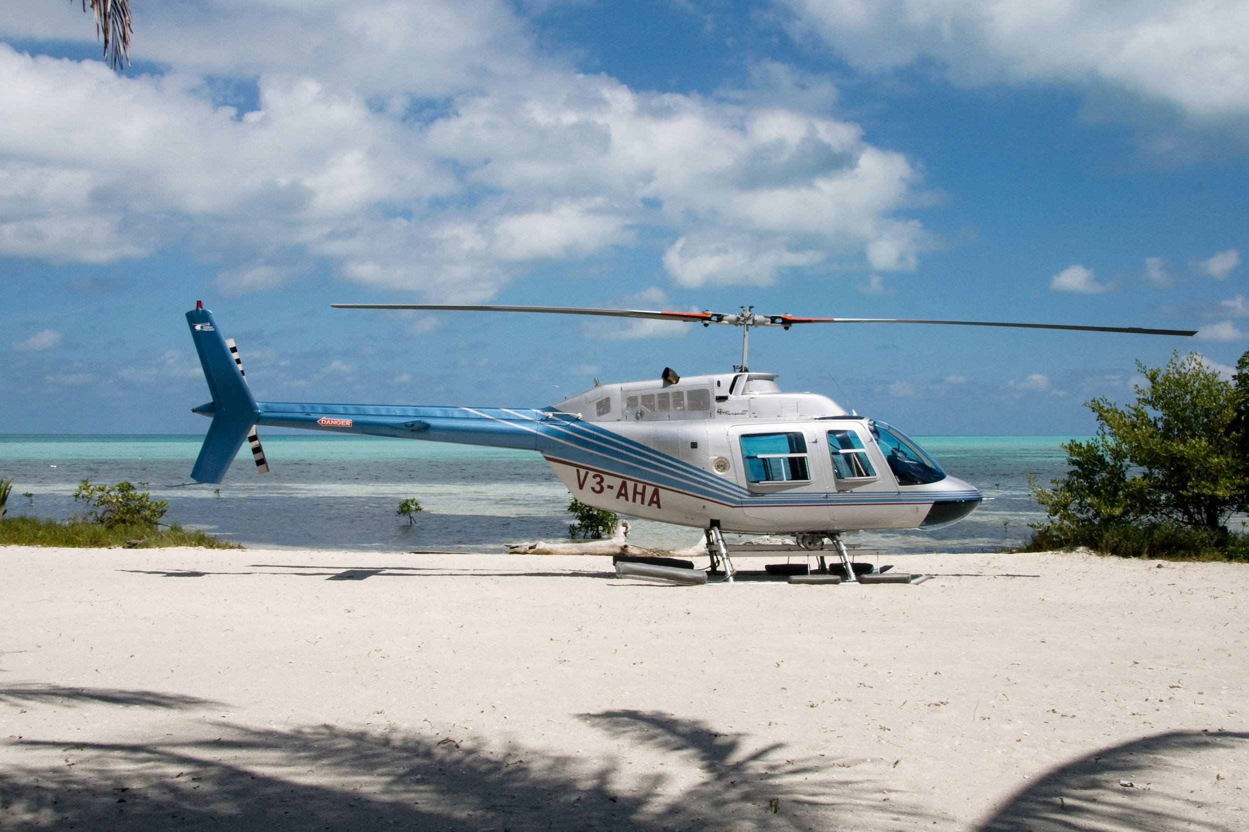 Helicopter Transfers Belize