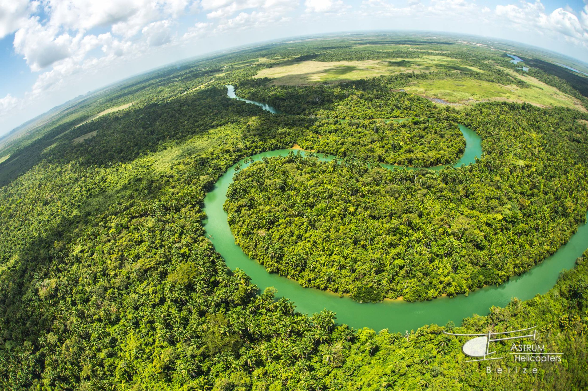 See Belize from above with Astrum Helicopters