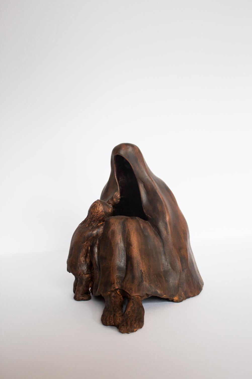 Woman Figure 15.17.15 cm bronze