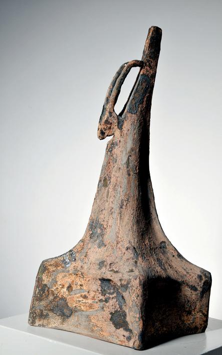 Vase 6   42.22.27 cm   Glazed terracotta