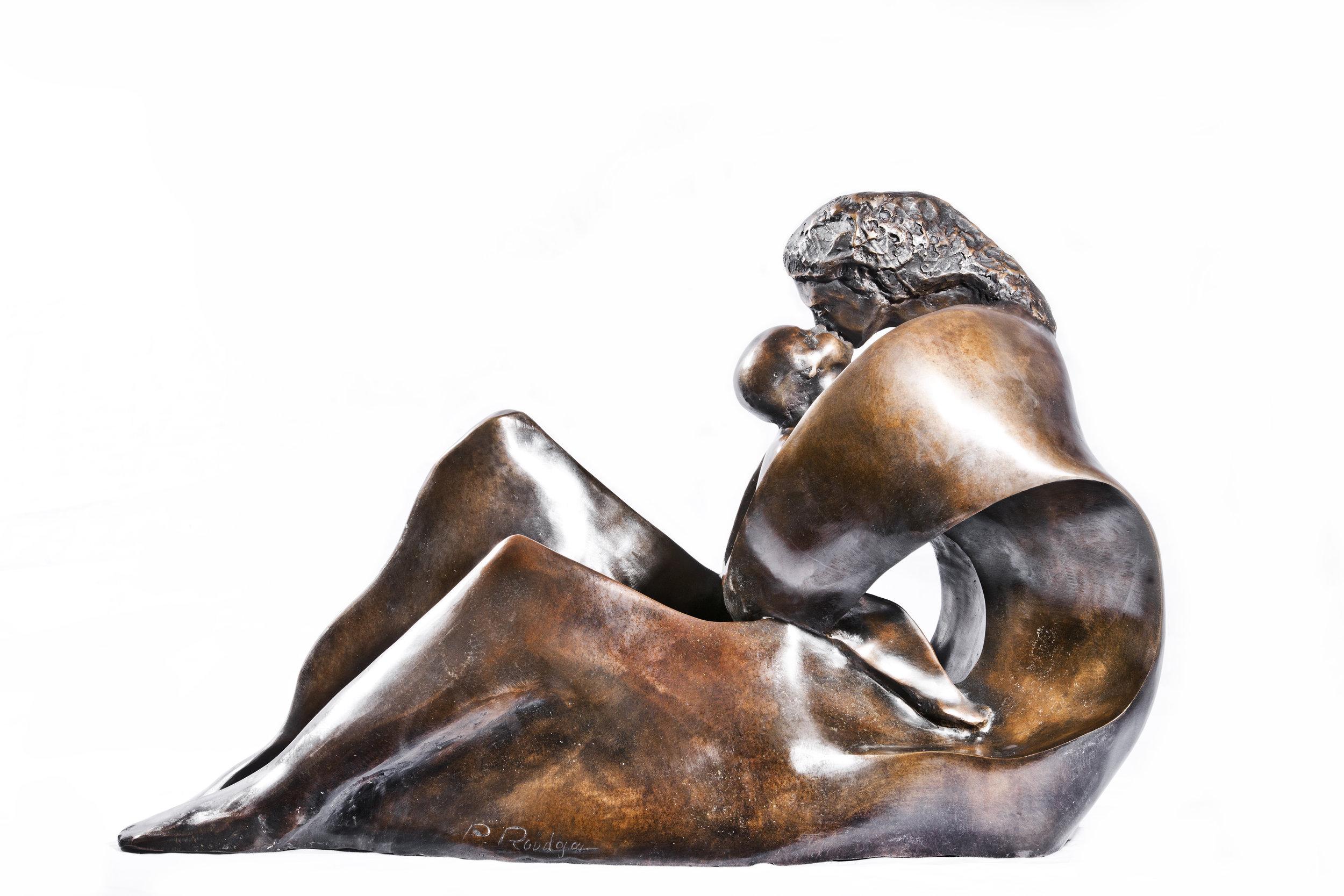 Maternity 54.77.34 cm bronze