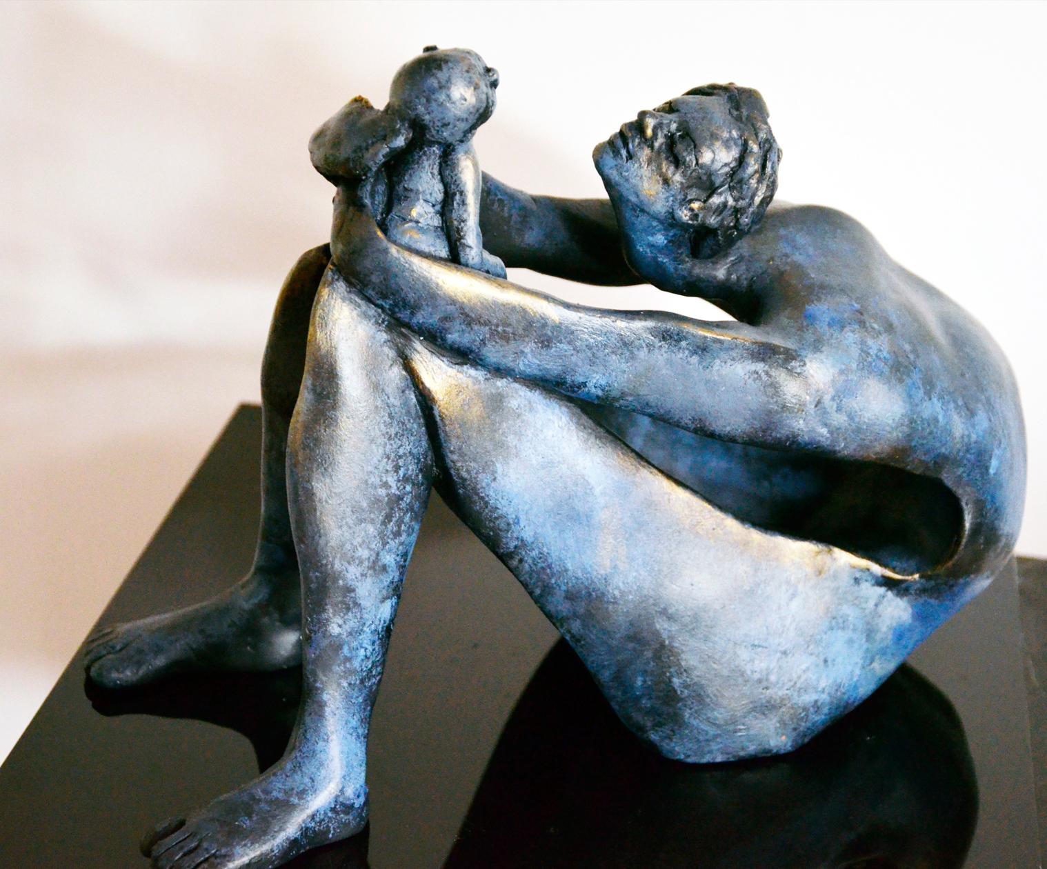 Maternity 28.15.25 cm Patinated terracotta