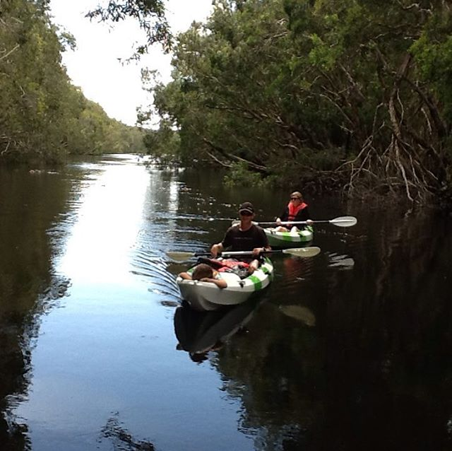 As beautiful and peaceful as kayaking gets!
