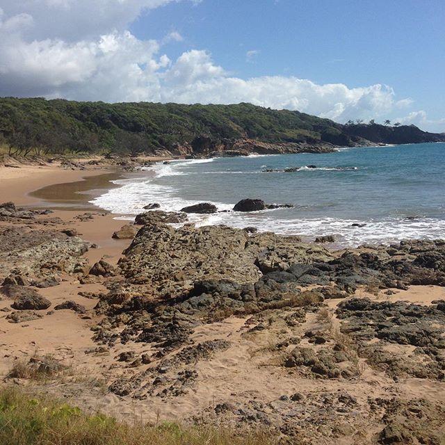 Just another perfect day in paradise #iknowaplace #thisisqueensland #australia #visitagnes1770 #visitaustralia #beach #beautiful