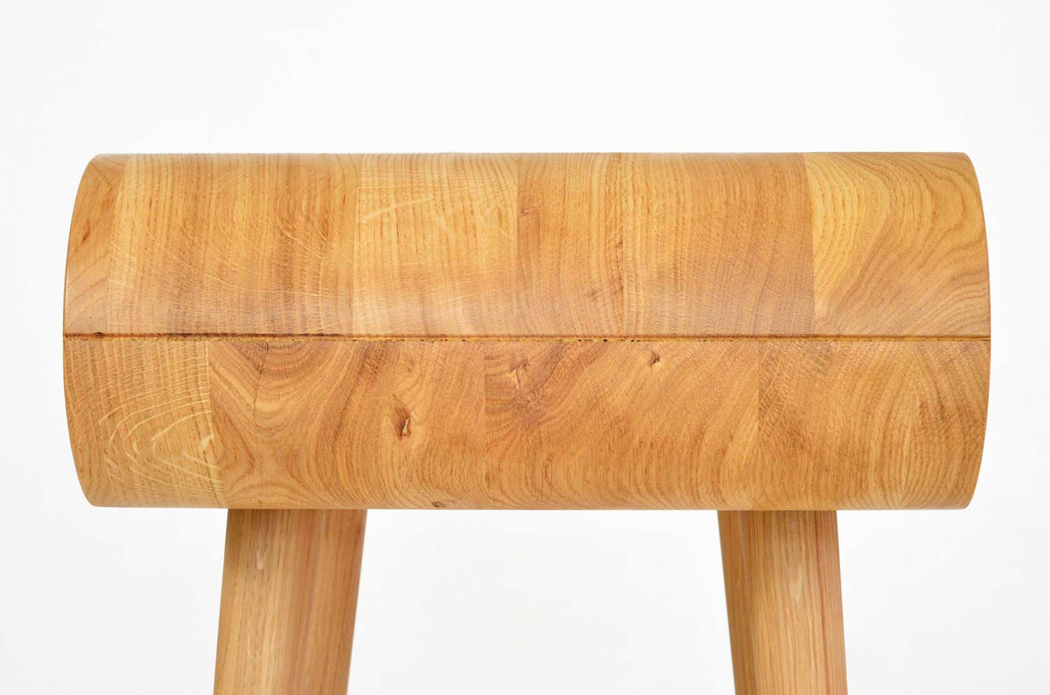Made in Solid Oak. Can be refurbished anytime -