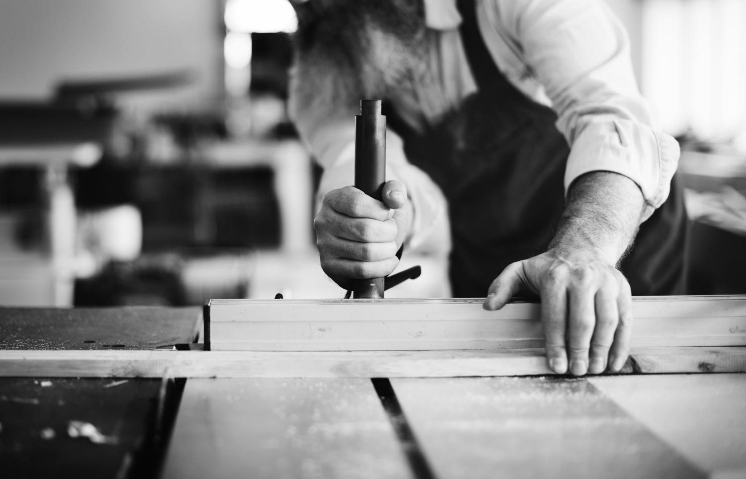 We use the most reliable and sophisticated tools we can find: our hands. -