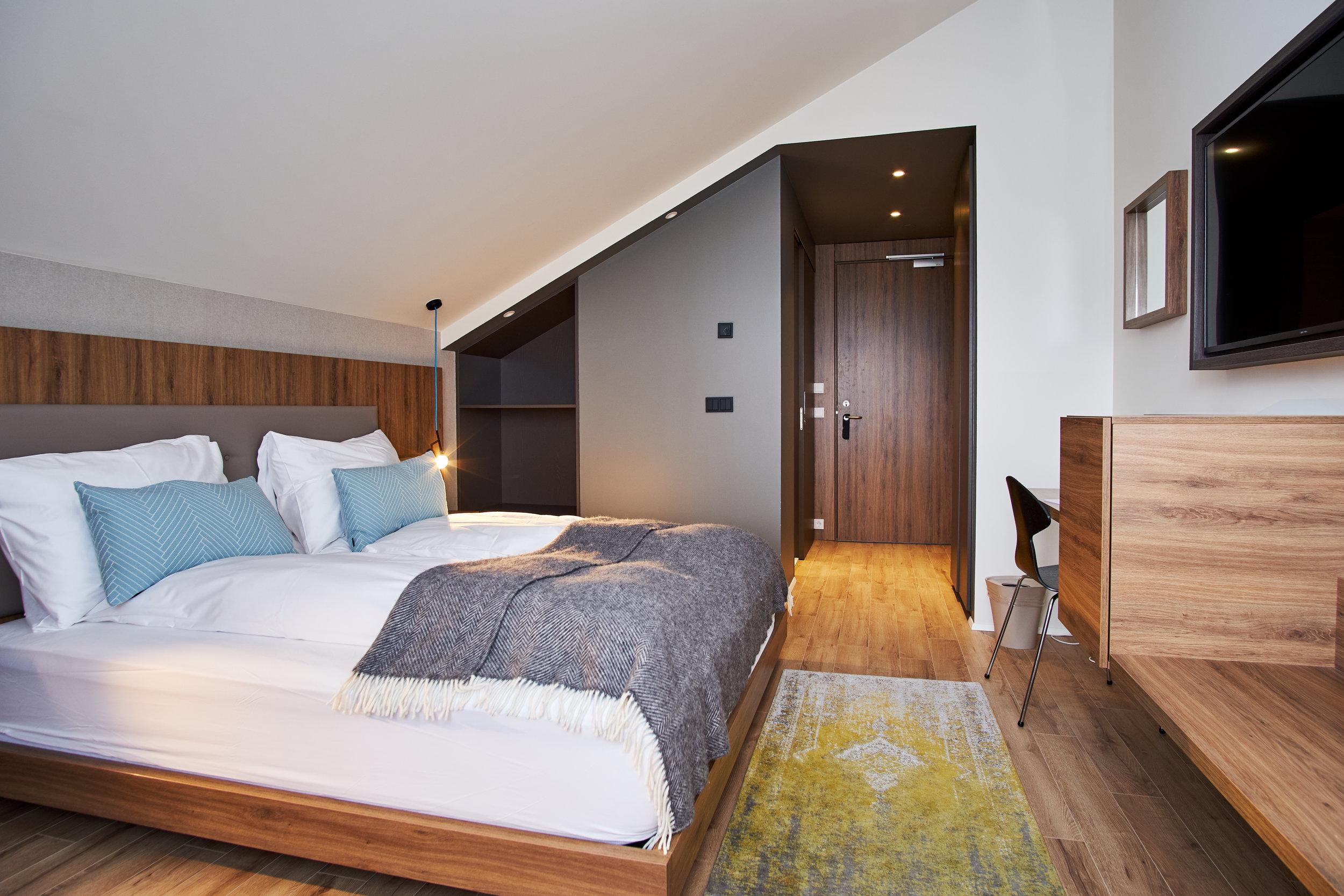Cozy Bedrooms - Elegant rooms furnished with Scandinavian and Icelandic design