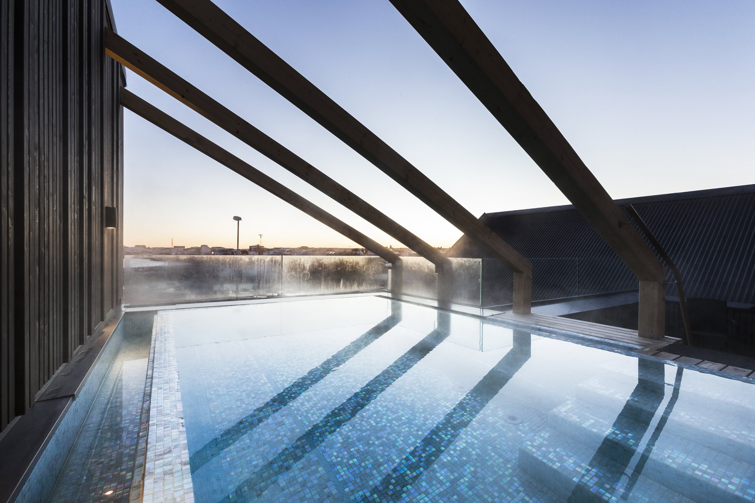 A Sitting Pool with a View - A perfect place to relax after a day exploring the area