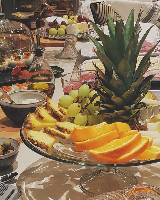 What's better than starting the day with a good breakfast buffet?