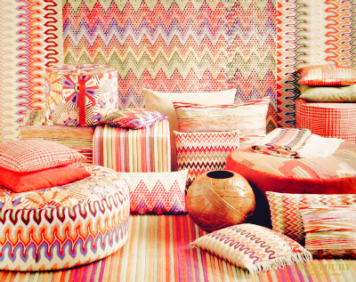 A selection of Missoni Home items, please do contact Caroline at the Missoni Home, London showroom for more information