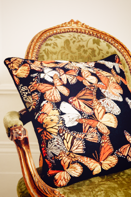 Monarch Cushion by Alexander McQueen at The Rug Company