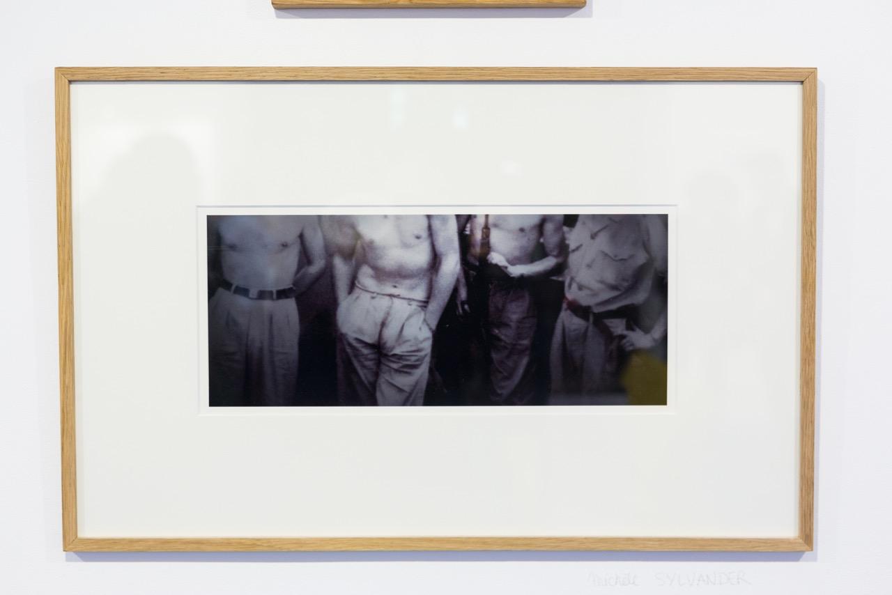 Michèle Sylvander,  Archives réactivées . Photographie, 35 cm x 15 cm