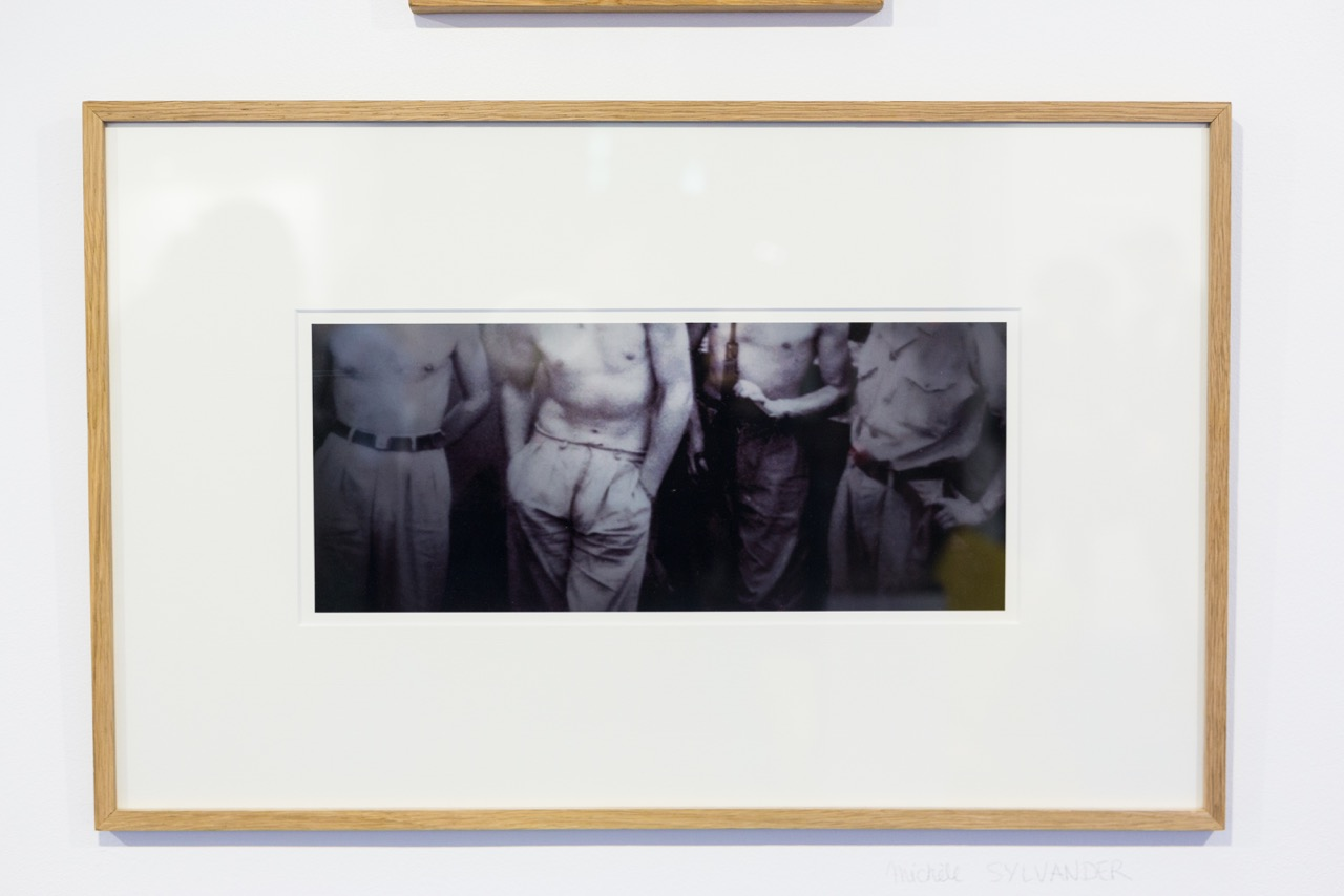 Michèle Sylvander,  Archives réactivées 1/5 . Photographie, 35 cm x 15 cm