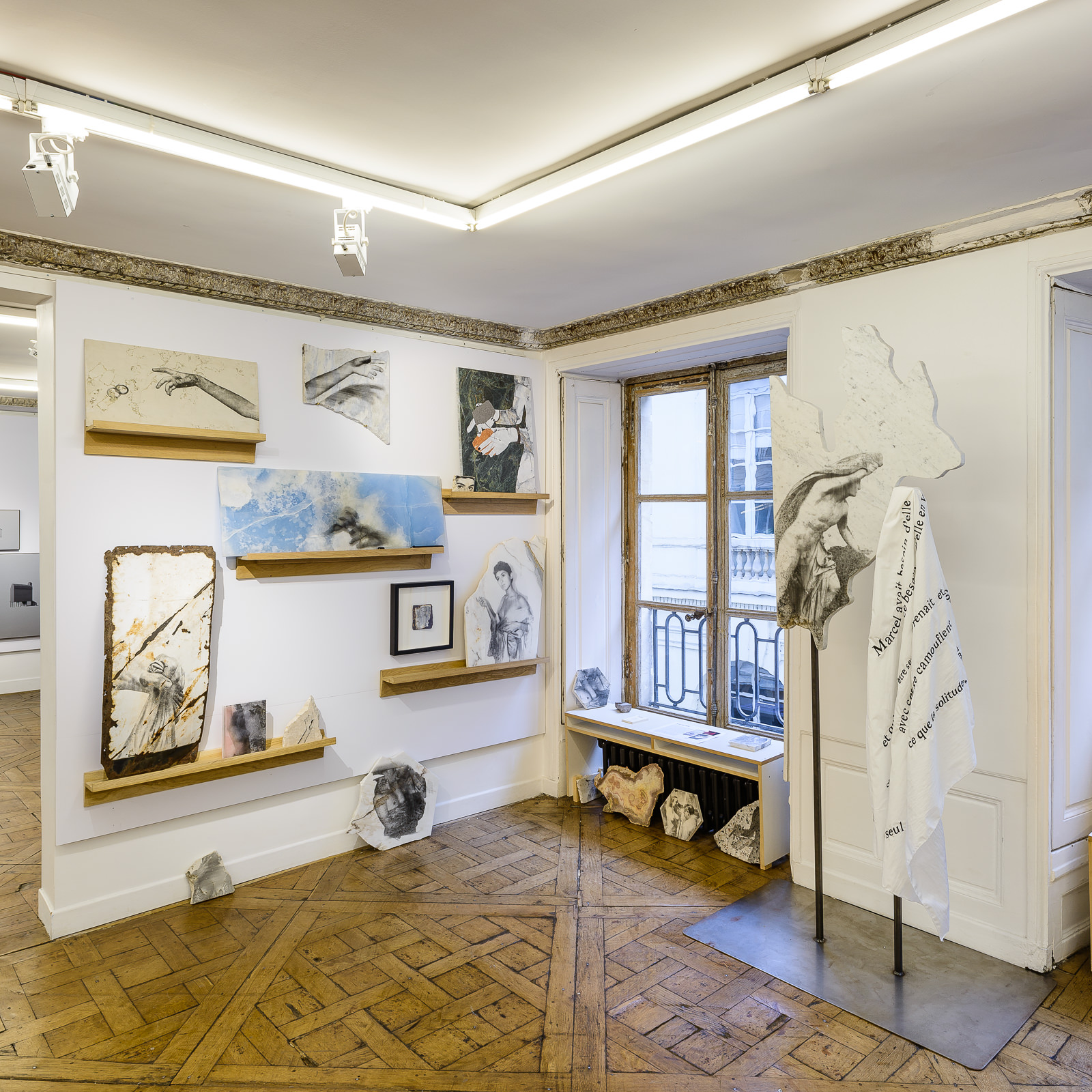 Vue d'exposition Salon Approche - 2018 _ Alice Guittard x Double V Gallery.jpg