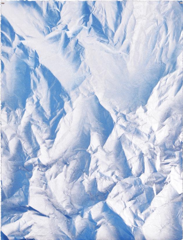Benjamin Ottoz_ Double V Gallery_50x65cm Bleu Argent (1) - copie.jpg