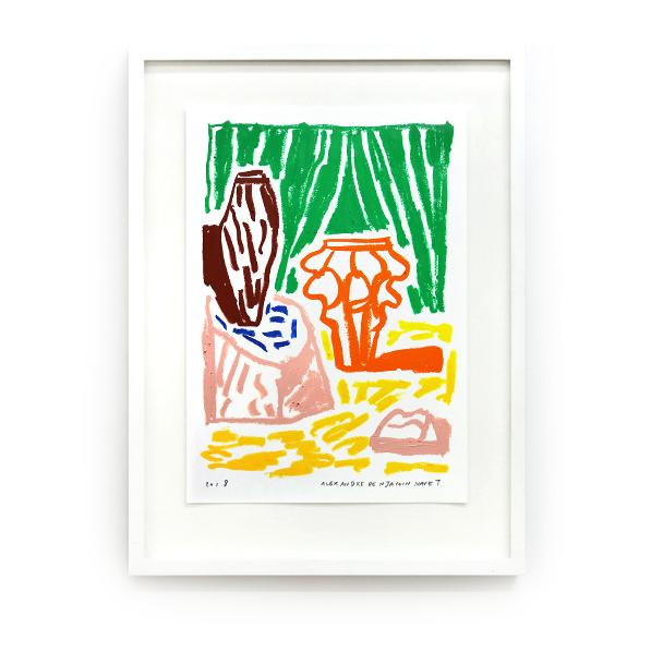 Alexandre Benjamin Navet _Summer Serie I, 2018_ Double V Gallery.png