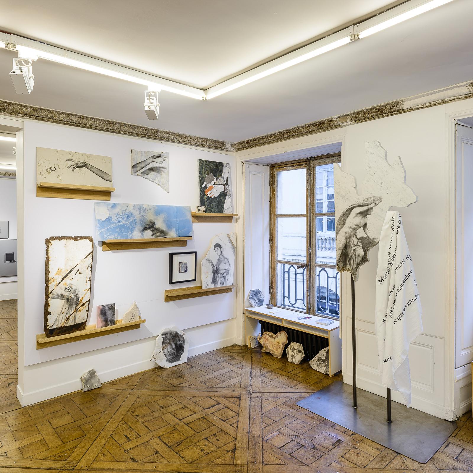 Vue d'exposition Salon Approche - 2018 _ Alice Guittard x Double V Gallery_01.jpg