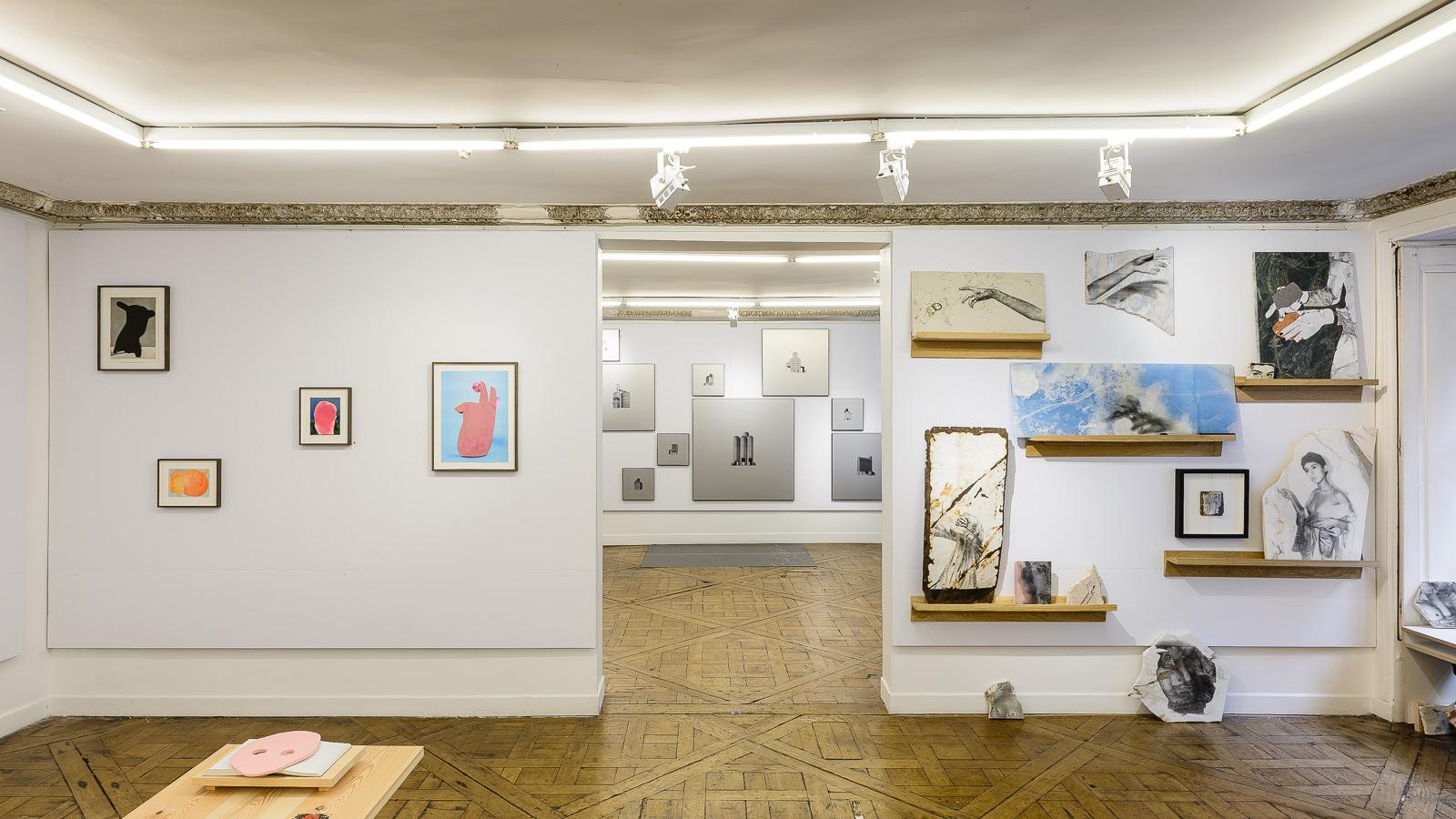 Vue d'exposition Salon Approche - 2018 _ Alice Guittard_Double V Gallery © Grégory Copitet.jpg