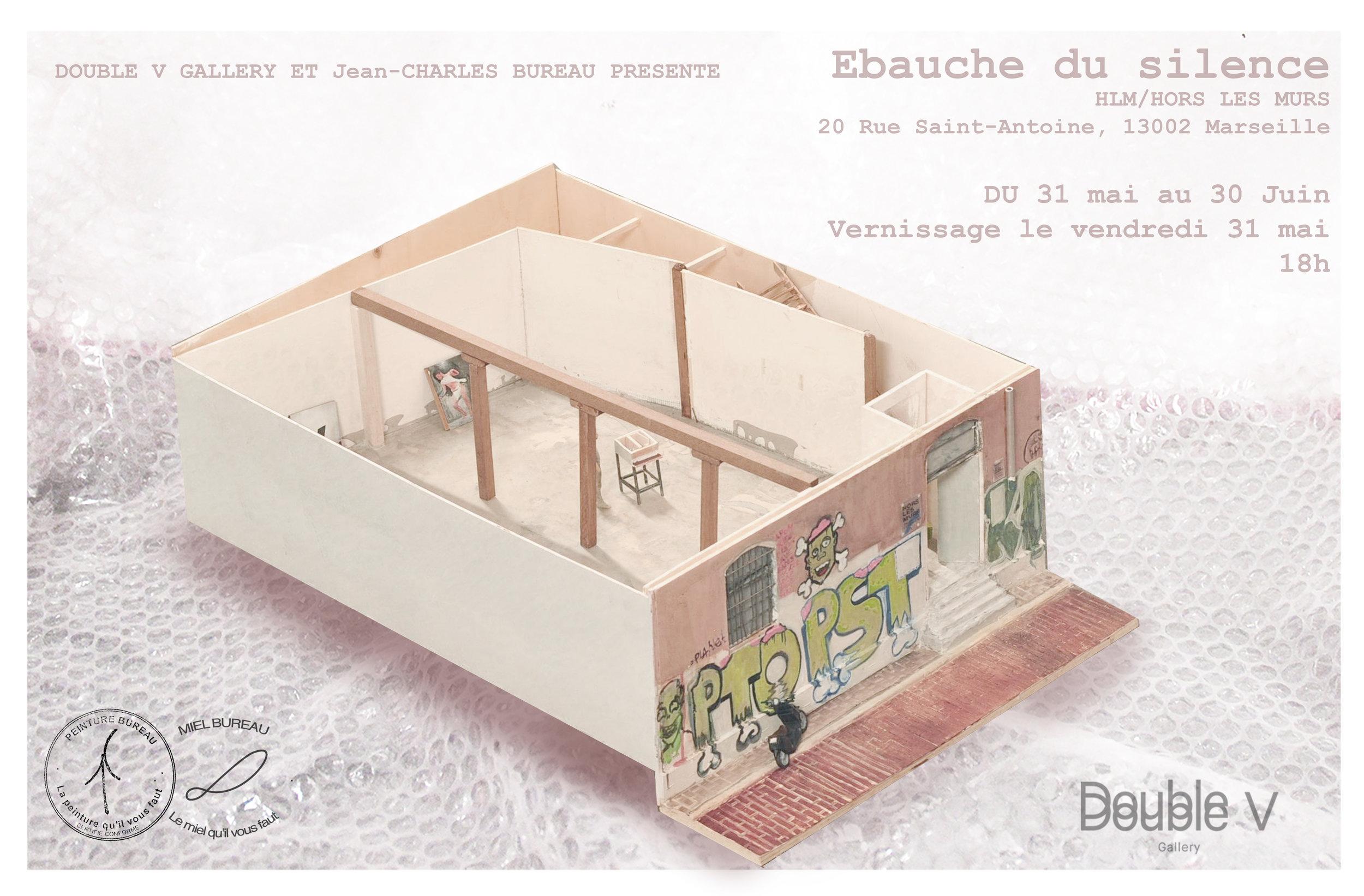 Jean-Charles Bureau_Double V Gallery_Marseille_Ebauche du Silence