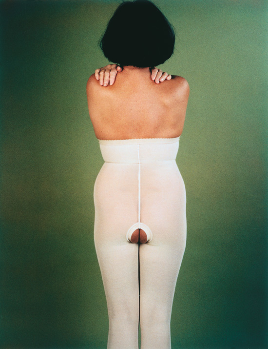 MichèleSylvander_DoubleVGallery_Marseille-C'est une fille 1995 Tirage ilfochrome, 160 x 115 cm, édition de 3 Collection FNAC.jpg