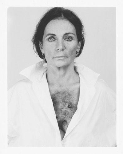 MichèleSylvander_DoubleVGallery_Marseille-La fautive 1995 Tirage d'après Polaroïd N B, 47 x 58 cm Collection privée.jpg