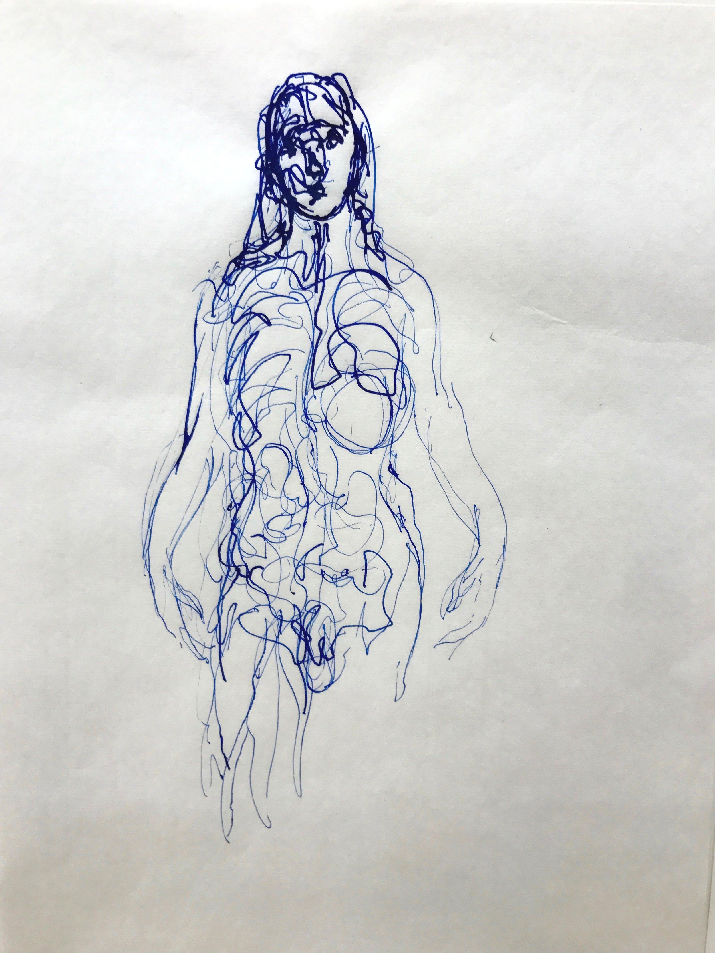 Gerard Traquandi - Sans titre, 2014 - Encre sur papier japon - 34,4 x 22,5 cm.1.jpg