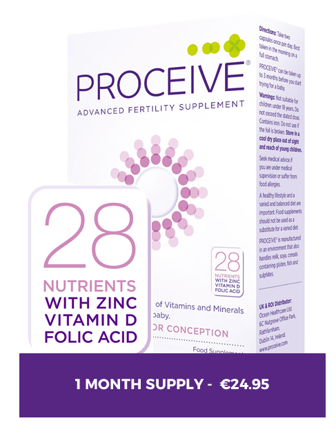 Proceive for Women - 1 Month Preconception Supplement