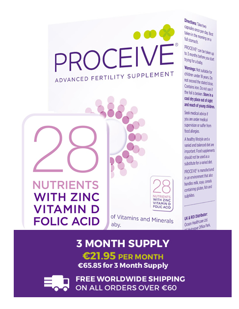 Proceive for Women - 3 Month Preconception Supplement