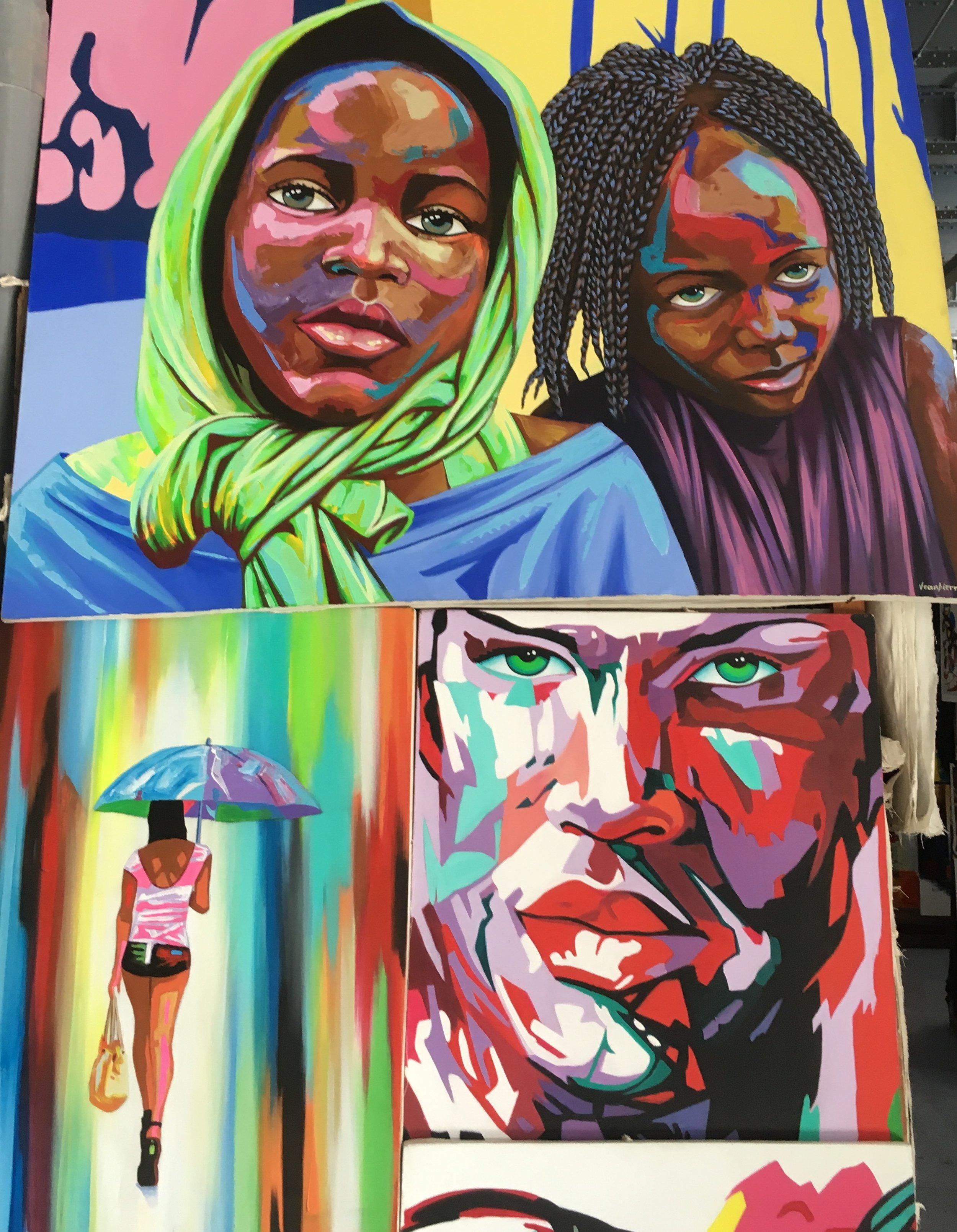 Cuban art. What colors!