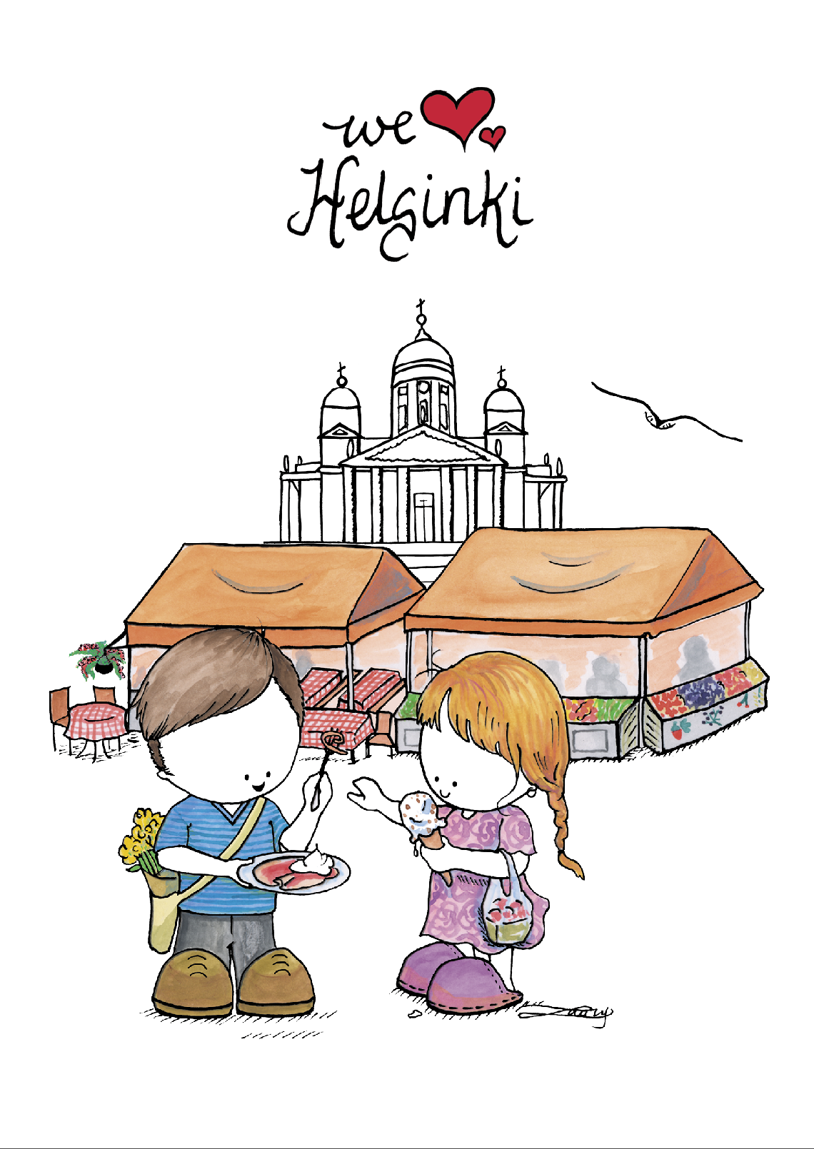 Helsinki's most vibrant market by the sea!
