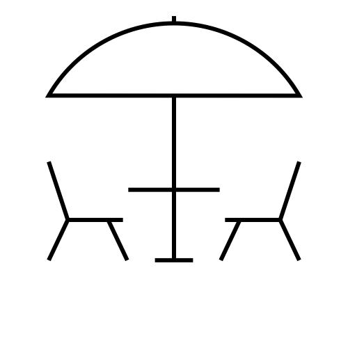 Area esterna attrezzata