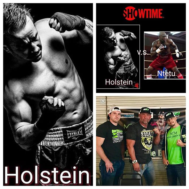 "SupZilla Nation! SupZilla athlete Brian ""The Bull"" Holstein and the Mean Green Elite are heading to Verona, New York for a Showtime Fight this Friday night at the Turning Stone Resort and Casino! Make sure to wear your SupZilla gear and tune in to watch Brian take on Francy Ntetu on Shobox: The New Generation, beginning at 10:30pm on Showtime! Go get 'em Brian! Show him some love SupZilla Nation! ...""Come get a scoop!"" @brian_thebull @showtime #beastmode #bodybuilding #comegetascoop #family #fit #fitness #fitfam #fitlife #goals #healthy #Indiana #inspiration #lifestyle #motivation #nutrition #Ohio #strength #SupZilla #SupZillaFit #SupZillaHer #SupZillaNation #SupZillafamily #SupZillagreen #SupZillastrong #SupZillatakeover #SupZilla4life #supplements #training #weightloss #workout"