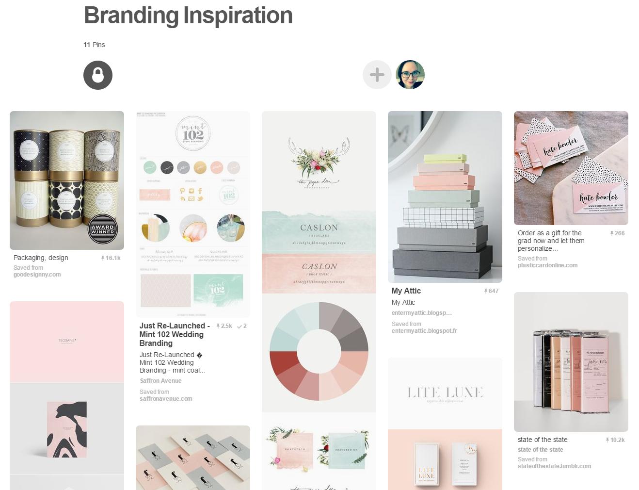 branding inspiration - clare drake