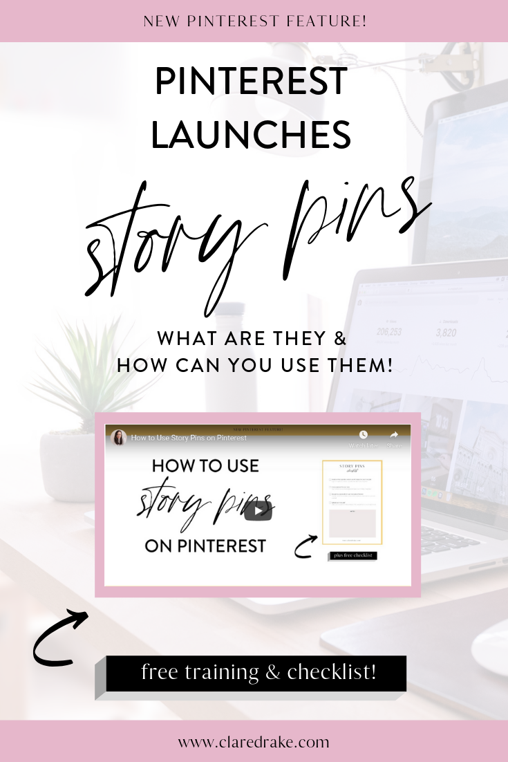 Pinterest launches story pins