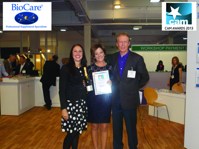 Gaye Godkin wins major UK award. She has received the award - Outstanding practice of Nutrition for the UK 2013