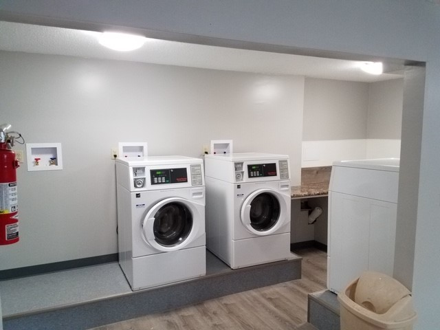New Laundry Room facility available for tenants to use