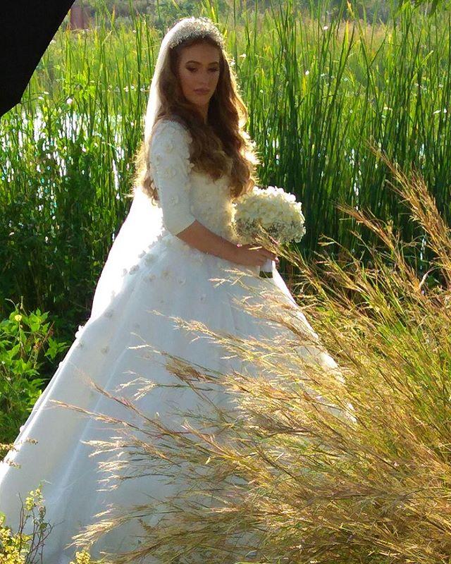 Miri bride, vision of summer #miribridal #bride #bridalgown #wedding #weddingseason #summerwedding