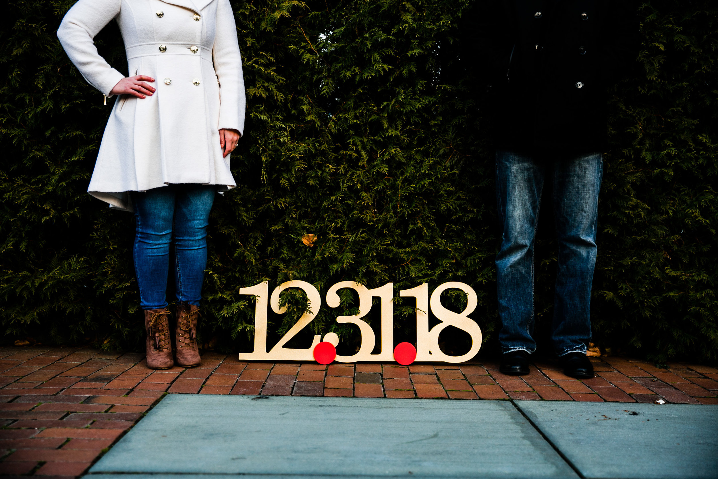 Longwood Garden Christmas Engagement Shoot -002.jpg