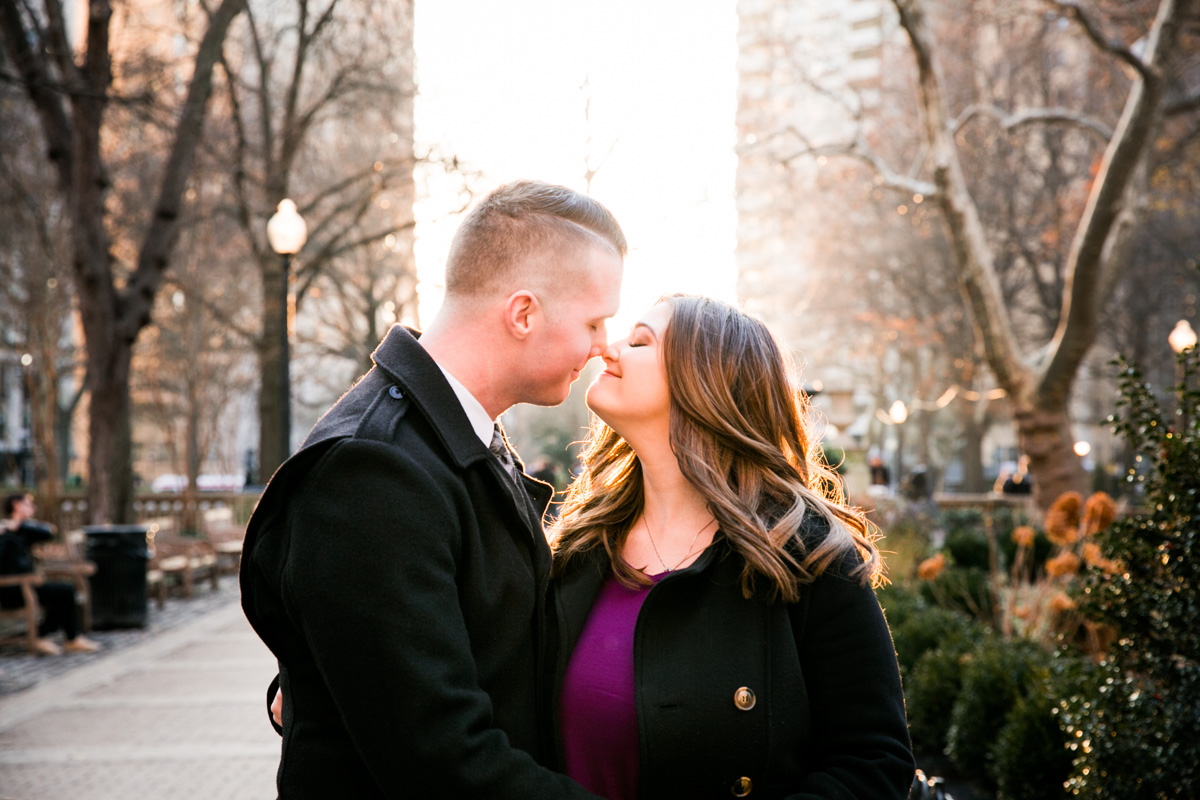 Rittenhouse Square Engagement Photos - LoveStruck Pictures - 001.jpg