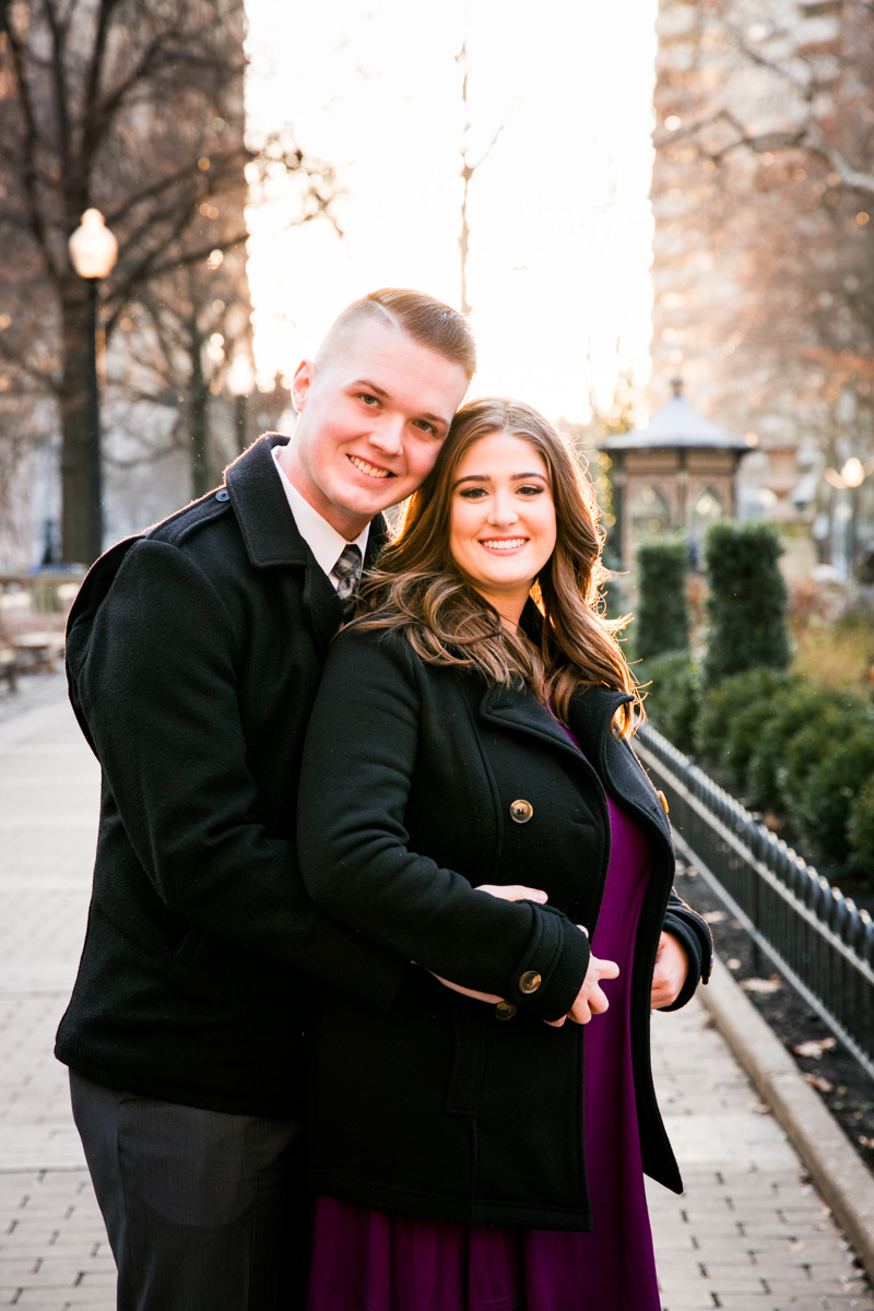 Rittenhouse Square Engagement Photos - LoveStruck Pictures - 002.jpg