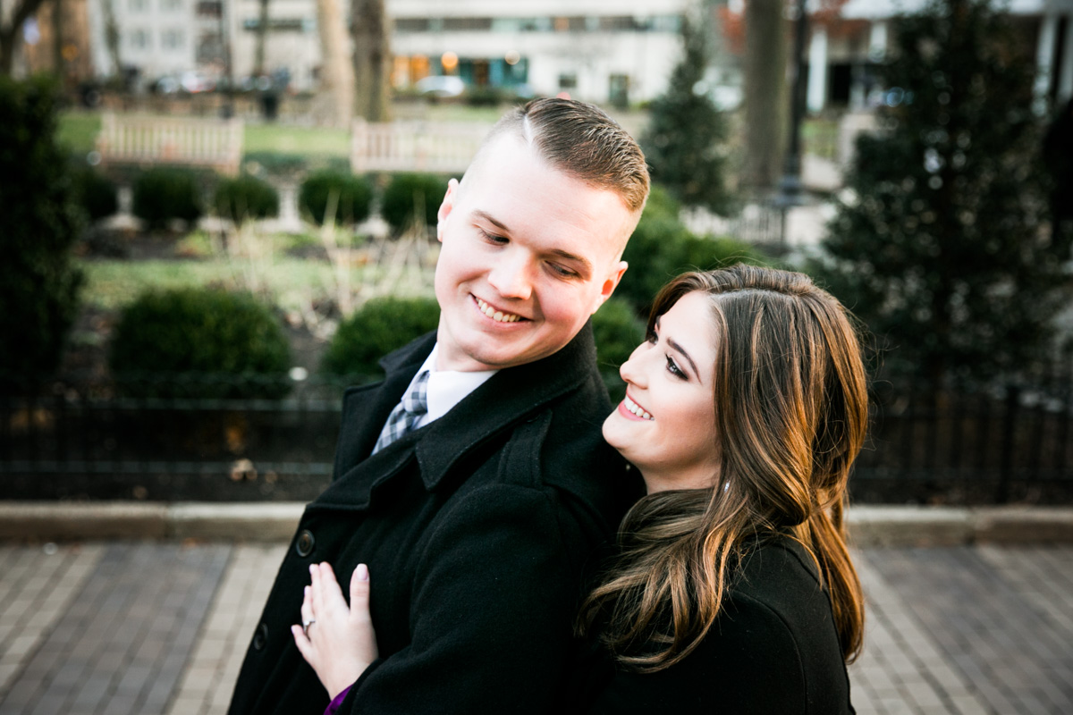 Rittenhouse Square Engagement Photos - LoveStruck Pictures - 006.jpg