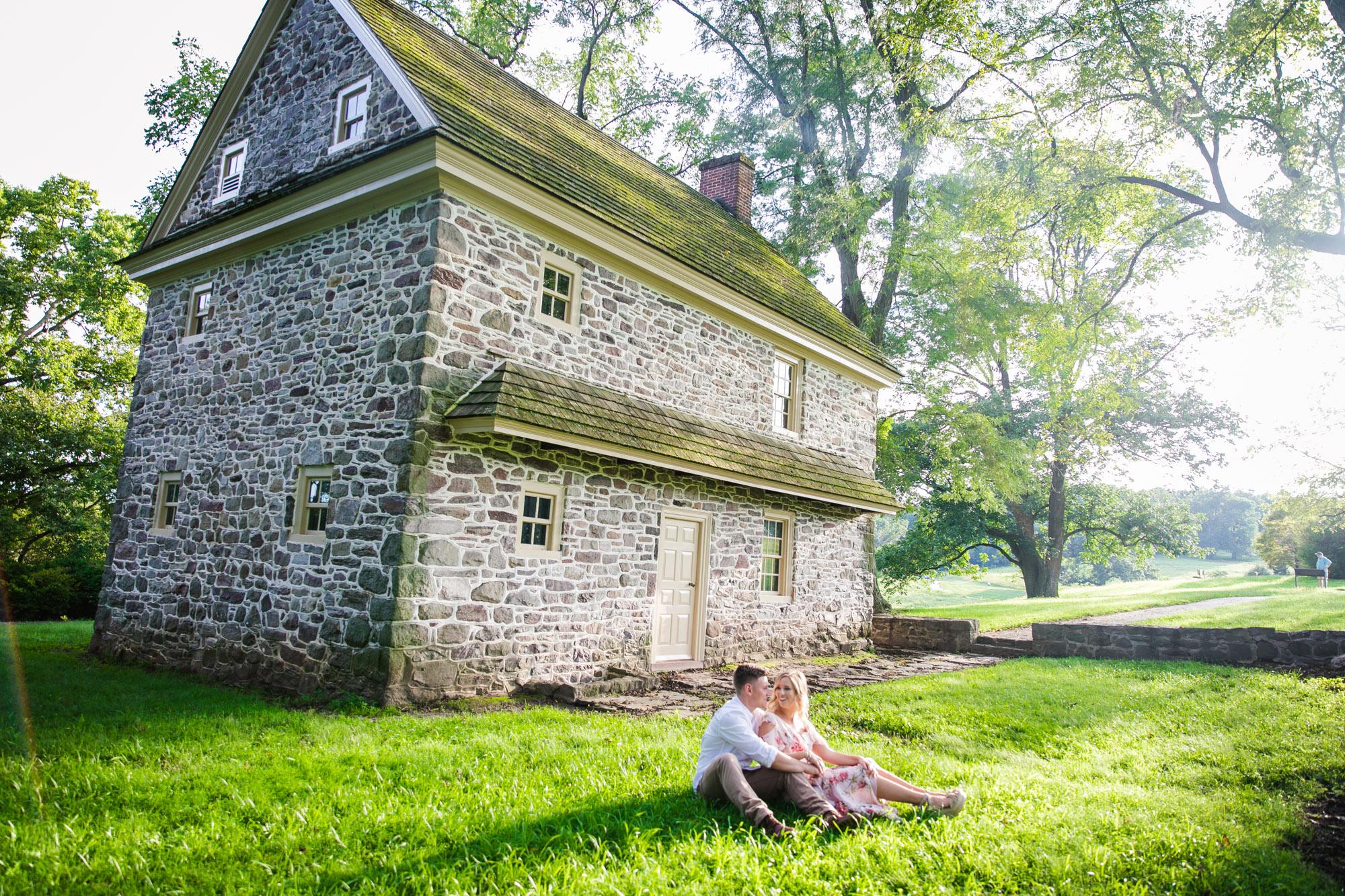Amanda and Chris - Engagmenet Photos - Valley Forge Park - 006.jpg