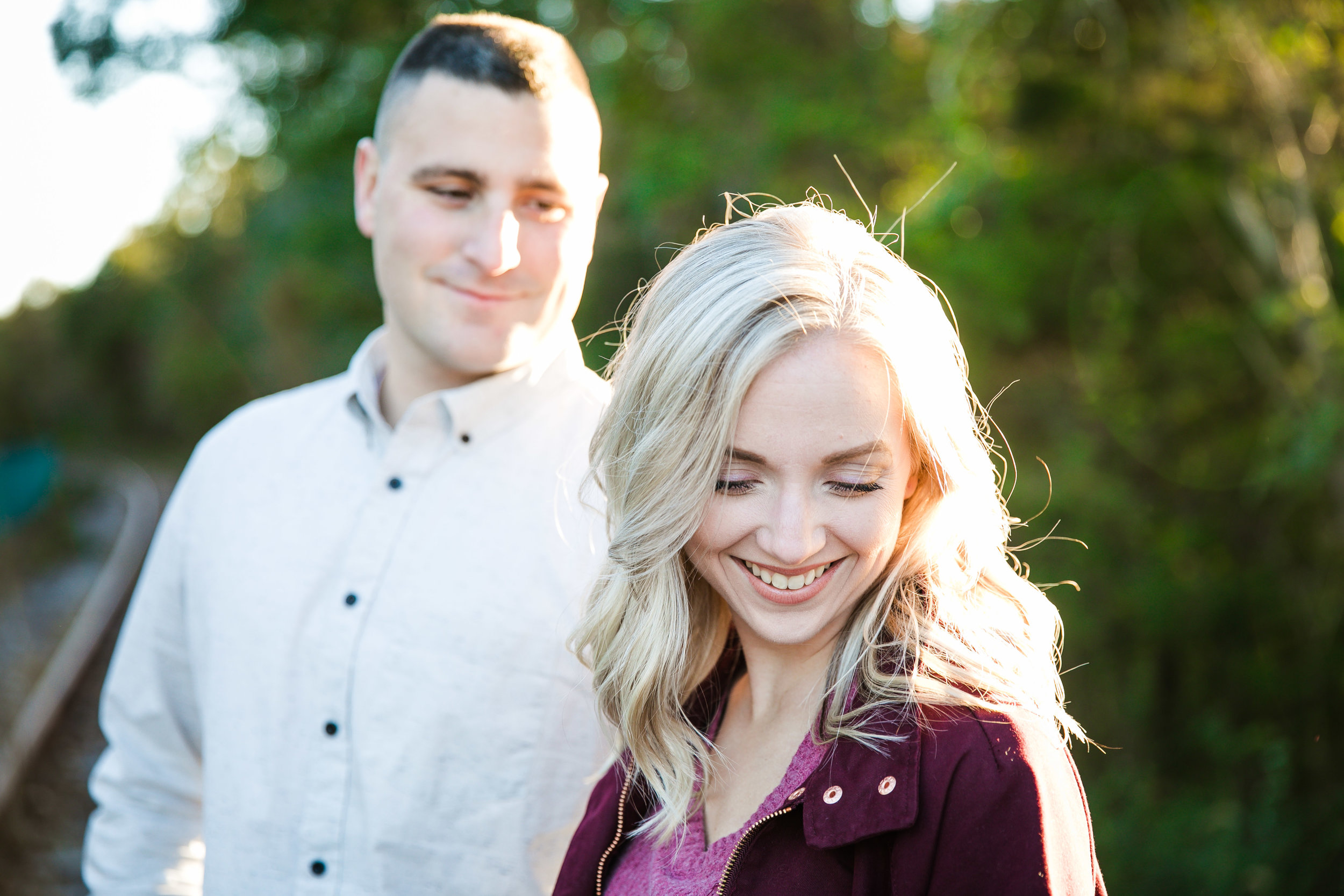 Katie and Kev - Train Tracks Engagement Photography - 006.jpg