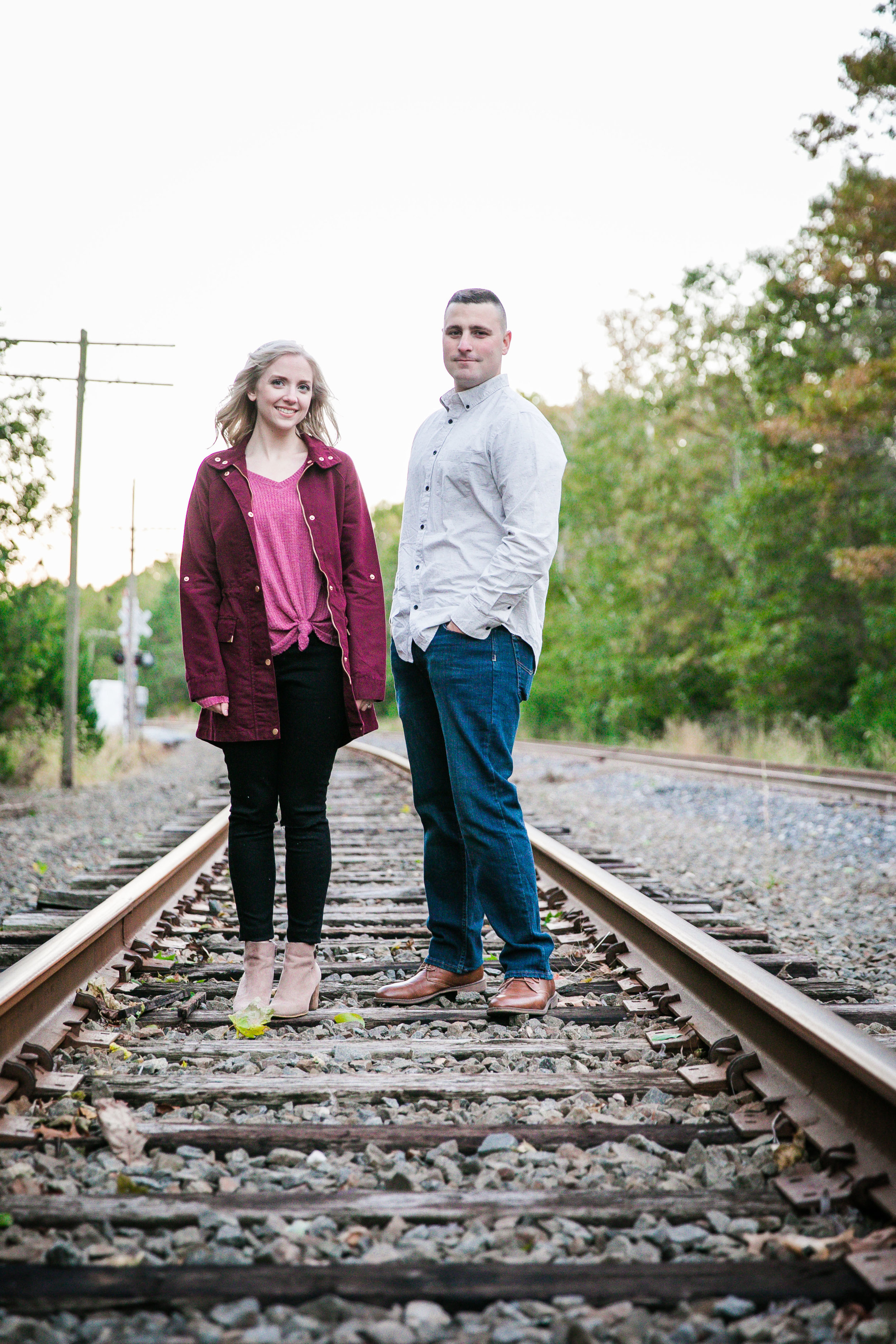 Katie and Kev - Train Tracks Engagement Photography - 027.jpg